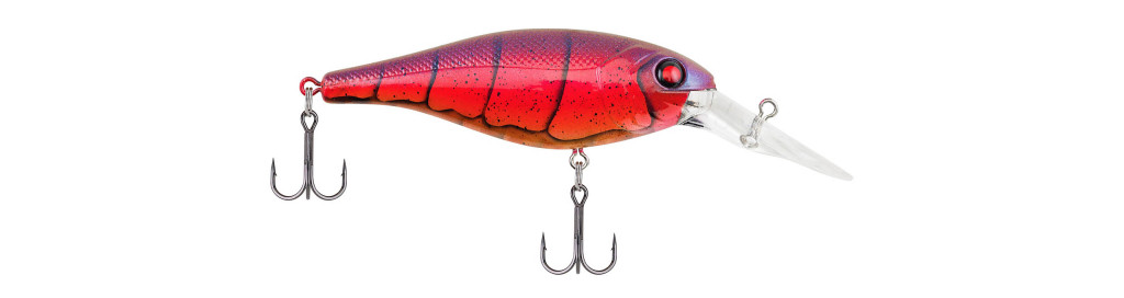 Berkley Bad Shad - Color: Special Red Craw