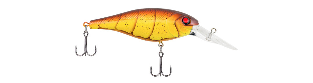 Berkley Bad Shad - Color: Spring Craw