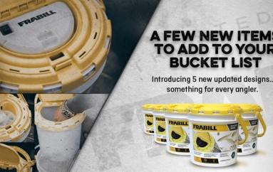 Frabill Drainer Bait Bucket Redesign