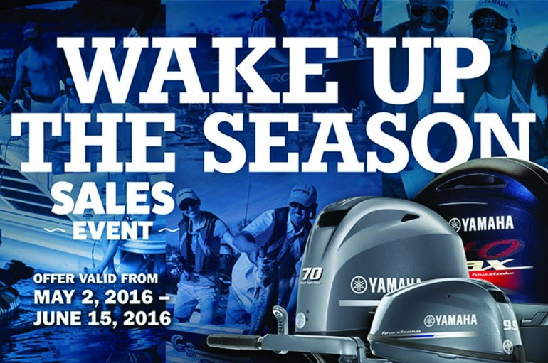 Yamaha Marine Announces Wake Up the Season Sales Event